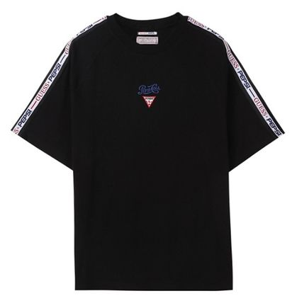 Guess More T-Shirts Unisex Street Style Collaboration Short Sleeves T-Shirts 7