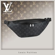 Louis Vuitton MONOGRAM Monogram Blended Fabrics Street Style 3WAY Leather Hip Packs