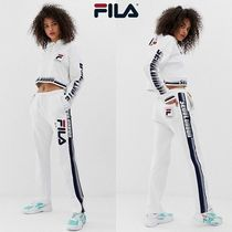 FILA Casual Style Sweat Street Style Plain Long Sweatpants