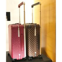 Louis Vuitton EPI Unisex Blended Fabrics Street Style Carry-on