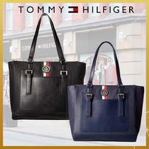 Tommy Hilfiger A4 PVC Clothing Office Style Totes