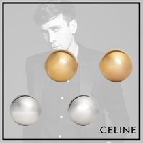 CELINE Casual Style Brass Earrings & Piercings