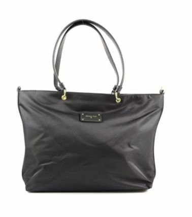 A4 2WAY Plain PVC Clothing Office Style Oversized Totes