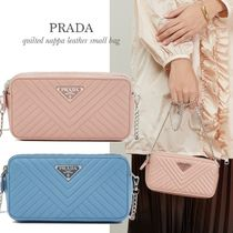 PRADA DIAGRAMME Shoulder Bags