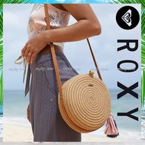 ROXY Casual Style Plain Shoulder Bags