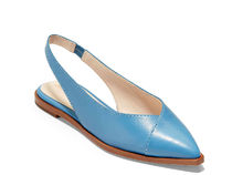 Cole Haan Plain Leather Elegant Style Pointed Toe Shoes