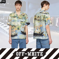 Off-White Long Sleeves Cotton Handmade Shirts