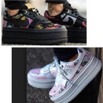 Nike Flower Patterns Platform Platform & Wedge Sneakers