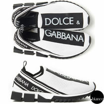 Dolce & Gabbana Bi-color Loafers & Slip-ons