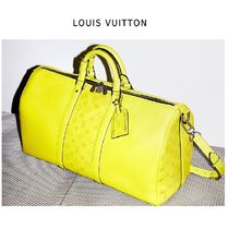 Louis Vuitton 2019SS KEEPALL BAND VILLIERS yellow one size Boston Bags