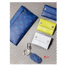 Louis Vuitton 2019SS  MILITARY TAB blue one size keychains&holders