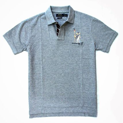 Ralph Lauren Polos Pullovers Plain Cotton Short Sleeves Polos 11