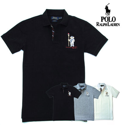 Ralph Lauren Polos Pullovers Plain Cotton Short Sleeves Polos 20