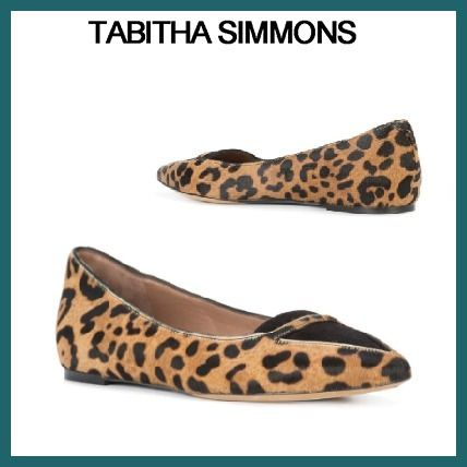 Leopard Patterns Leather Shoes