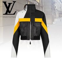 Louis Vuitton Short Casual Style Leather Jackets