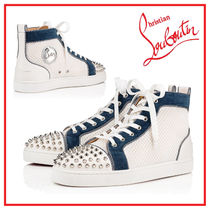 Christian Louboutin Studded Plain Sneakers
