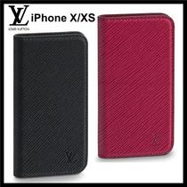 Louis Vuitton EPI Unisex Blended Fabrics Smart Phone Cases