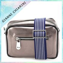 GIANNI CHIARINI Camouflage Casual Style 2WAY PVC Clothing Shoulder Bags