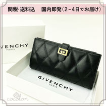 GIVENCHY GV3 Leather Long Wallets