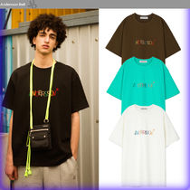 ANDERSSON BELL Unisex Street Style Cotton Oversized T-Shirts