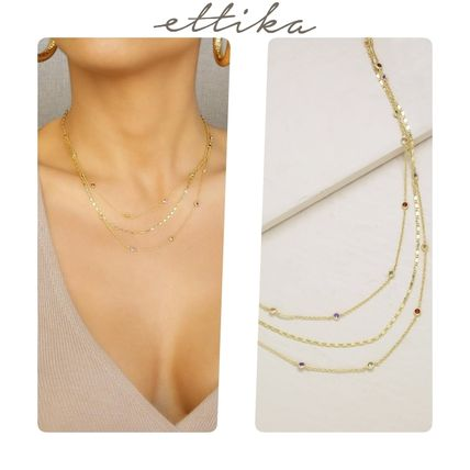 Chain Party Style Necklaces & Pendants