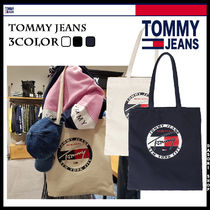 Tommy Hilfiger Unisex Street Style Totes