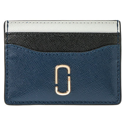 quality design 08920 67f02 MARC JACOBS 2019 SS Unisex Bi-color Leather Card Holders