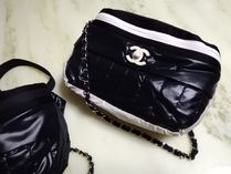 CHANEL ICON Casual Style Unisex Crossbody Shoulder Bags