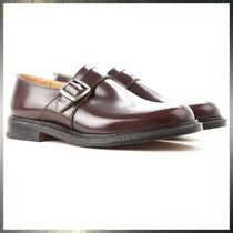 Church's Monk Leather Loafers & Slip-ons