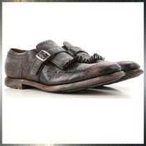 Church's Monk Leather Fringes Loafers & Slip-ons