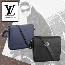 Louis Vuitton TAIGA 2WAY Leather Messenger & Shoulder Bags