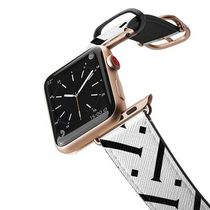 casetify Casual Style Unisex Leather Apple Watch Belt Watches