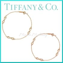 Tiffany & Co TIFFANY INFINITY Costume Jewelry 18K Gold Elegant Style Bracelets