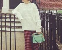GIVENCHY Cable Knit Street Style Long Sleeves Plain Medium