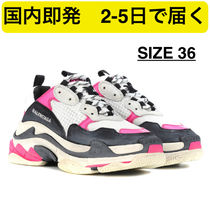 BALENCIAGA Triple S Casual Style Street Style Low-Top Sneakers