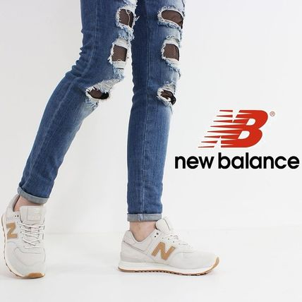 Blended Fabrics Low-Top Sneakers