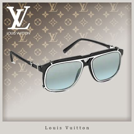 624805cf97 Louis Vuitton V 2019 SS Street Style Square Sunglasses (Z1086E) by ...
