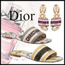 Christian Dior Casual Style Blended Fabrics Sandals