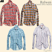 Ron Herman Button-down Gingham Other Check Patterns Long Sleeves