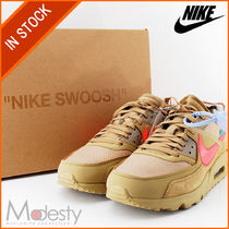 Nike AIR MAX 90 Street Style Collaboration Plain Sneakers