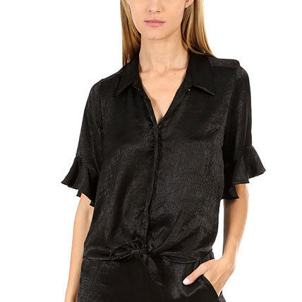 Casual Style Street Style Plain Shirts & Blouses
