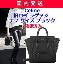 CELINE Luggage 2WAY Plain Shoulder Bags
