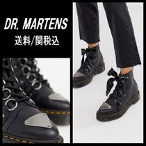 Dr Martens Lace-up Casual Style Leather Lace-up Boots