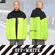 Off-White Short Plain Handmade Jackets