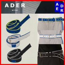 ADERERROR Casual Style Unisex Street Style Belts
