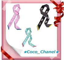 CHANEL Silk Lightweight Scarves & Shawls