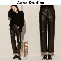 Acne Leather Leather & Faux Leather Pants
