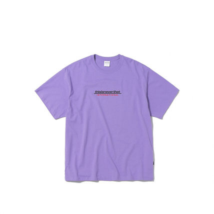 thisisneverthat More T-Shirts Street Style Cotton Short Sleeves T-Shirts 13