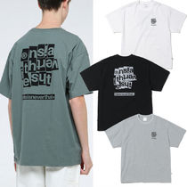 thisisneverthat Street Style Cotton Short Sleeves T-Shirts