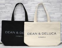 DEAN&DELUCA Casual Style Unisex Canvas A4 Totes